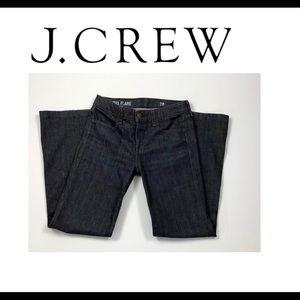J Crew High Heel Flare Jeans